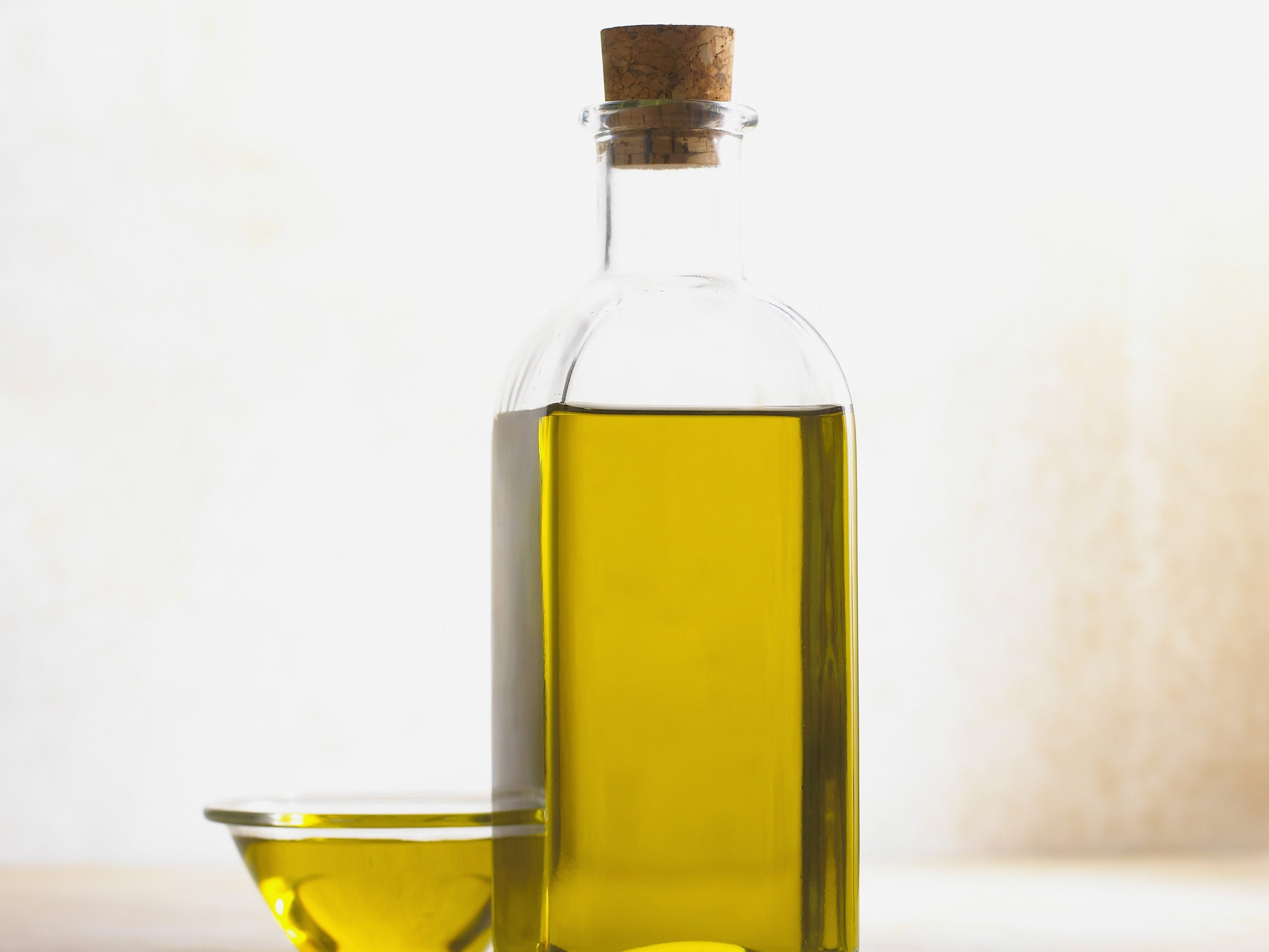 Olivenöl zum Locken pflegen